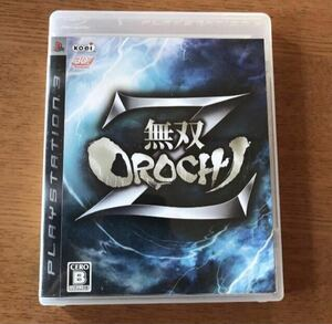 PS3 無双OROCHI Z 取扱説明書有 中古