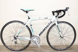 ■Bianchi ビアンキ ViaNirone7 ALU エントリーロード SHIMANO SORA 2X9S サイズ50 2011年モデル 美品