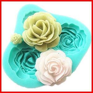 【Ever garden】 薔薇 バラ シリコンモールド / 手作り 石鹸 / キャンドル / 粘土 / レジン / シリコン モールド / 型 抜き型