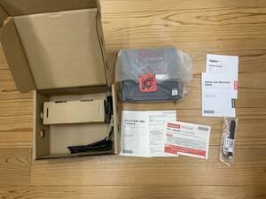 新品 Lenovo ThinkCentre M75q-1 Tiny Ryzen 5 Pro 3400GE/8GB/128GB(SSD)/WiFi/Win10 未使用