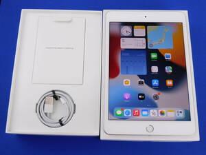 t2182 美品 Apple iPad mini5 Wi-Fi+Cellular 64GB MUX62J/A シルバー au