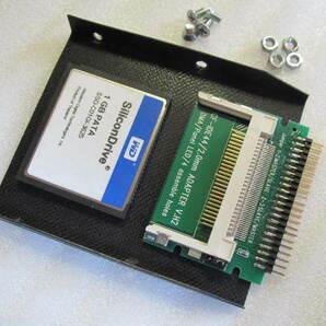 ★NEC PC-9821ノート 内蔵IDE HDDパック用 HDD(IDE SSD CF カード 1GB)★絶縁・脱落防止カバー付★PC-9821Ne2で動作確認済み★