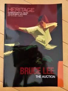 ブルース・リー遺品 2021年7月開催オークションカタログ◆ R・ベイカーに宛てた直筆レター 燃えよドラゴン鉄の爪『BRUCE LEE THE AUCTION』