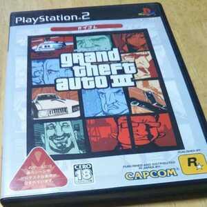 PS2 グランド・セフト・オート3 カプコン ※暴力・グロテスクシーンあり ※対象18歳以上 返金保証付き