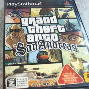 PS2/グランド・セフト・オート・サンアンドレアス カプコン 返金保証付き※暴力・グロテスクあり 対象18歳以上