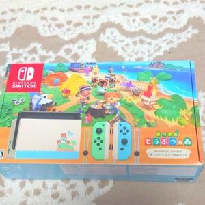 NintendoSwitch あつまれどうぶつの森セット