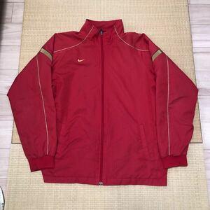 NIKE ナイキ ジャージ ナイロンジャケット ランニング スポーツ メンズ ロゴ 刺繍 赤 黄色 ジャージジャケット 野球