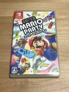Nintendo Switch スーパー マリオパーティ ニンテンドースイッチ ソフト