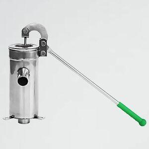 未使用 新品 手押しポンプ SeatheStars H-14 小型軽量 本体 井戸ポンプ ステンレス製 井戸 取水 手動