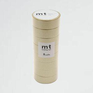 未使用 新品 mt カモ井加工紙 B-1J 同色8巻パック MT08P205R マスキングテ-プ 8P 金 幅15mm×7m