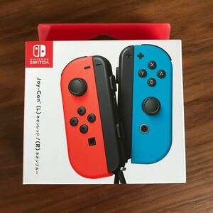 ジョイコン Joy-Con (L)ネオンレッド/(R)ネオンブルー 純正品 HAC-A-JAEAA Nintendo Switch