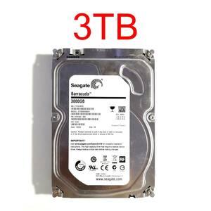 """HDD 3TB 3.5"""" 26mm SATA 6Gbps 正常 Seagate Barracuda ST3000DM001 9YN166-300 3.5インチ ハードディスクドライブ [HDD3S#20.7]"""