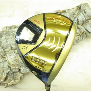 高反発 カムイワークス KM-300 ゴールド 10.5度 R シャフト ゴルフ 新品 定価 110,000円 2020yKAMUI