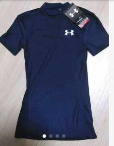 新品 UNDER ARMOUR ウェア アンダーシャツ 紺 ネイビー