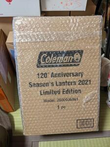 コールマン 120th アニバーサリーシーズンズランタン2021【新品・未使用】