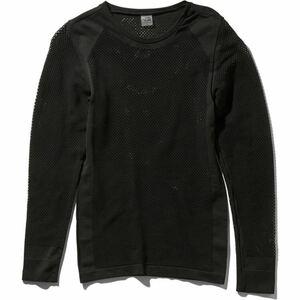 THE NORTH FACE ザノースフェイス 長袖ベースレイヤー レディースM ブラック(黒) 新品 NUW61701