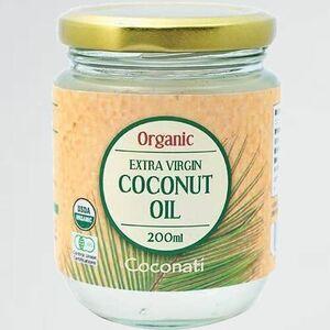 未使用 新品 オ-ガニック Coconati T-LG ココナッツオイル 200ml エキストラバ-ジン