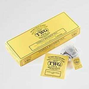 新品 未使用 Tea TWG C-WD Tea(ルイボスティ-,ノンカフェイン,コットンティ-バッグ, 2.5g×15個入り) |Vanilla Bourbon