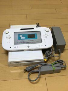 ニンテンドー WiiU 白32G 動作確認済