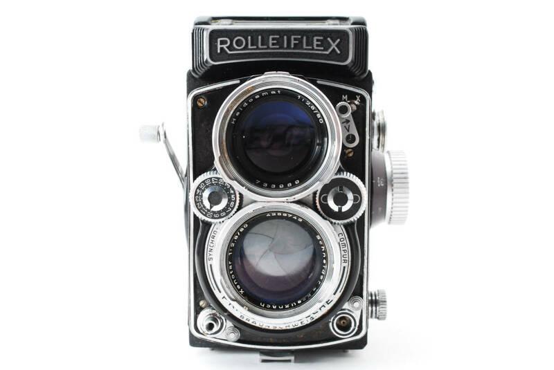 ◆激レア◆ Rollei ローライ ROLLEIFLEX 2.8D Xenotar F2.8 80mm ローライフレックス クセノタール 二眼レフカメラ 【現状品】 #1878