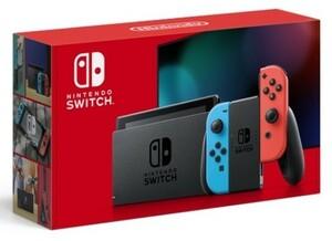 Nintendo Switch「バッテリー持続時間が長くなった新モデル」 Nintendo Switch ニンテンドースイッチ