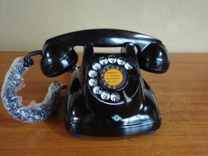 ●昭和の4号黒電話●モジュラー仕様 光回線可/整備済み 1974