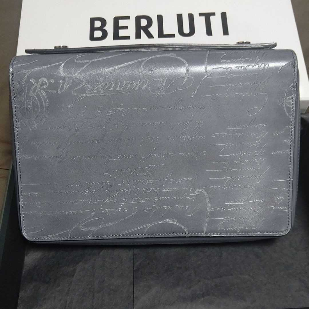 BERLUTI ベルルッティ 長財布 イタウバ 阪急メンズ館限定品 新品未使用品 シルバーパティーヌ