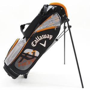 【即決】CALLAWAY キャロウェイ Xj HOT ジュニア スタンド式キャディバッグ ブラック系 [240001608960] ゴルフウェア