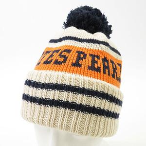 【即決】PEARLY GATES パーリーゲイツ ニット帽 ロゴ ホワイト系 FR [240001578201] ゴルフウェア