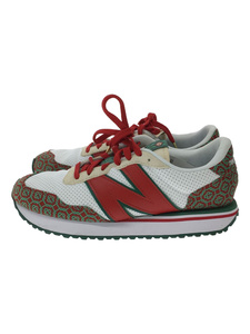 NEW BALANCE◆MS237CBB/×Casablanca/Red Monogram/ローカットスニーカー/シューズ/靴/28cm