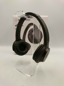 audio-technica◆audio-technica/イヤホン・ヘッドホン SOLID BASS ATH-WS330BT BK [ブラック]