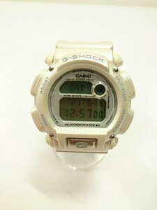 CASIO◆DW-8800AJ-7AT/A.D.M.A./マッシャー/クォーツ腕時計/G-SHOCK/デジタル/白