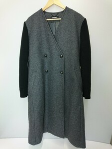DIESEL◆DIESEL W-GALORE CAPPOTTO/ロングコート/L/ウール/GRY