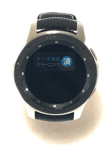 SAMSUNG◆Galaxy Watch SM-R800NZSAXJP/デジタル/黒