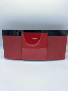 Panasonic◆コンポ SC-HC295-R [レッド]