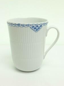 ROYAL COPENHAGEN◆マグカップ/コップ/陶磁器/食器/カップ/ホワイト/ブルー/プリンセス/ギフト/キッチン