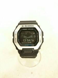 CASIO◆クォーツ腕時計_G-SHOCK/GBX-100-1JF/デジタル/ラバー/BLK/BLK