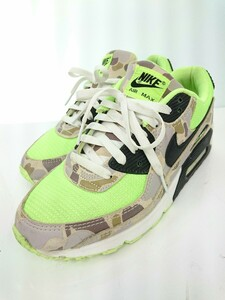 NIKE◆AIR MAX 90 SP/CW4039-300/27cm/グリーン/ナイロン/カモフラ