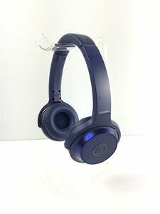 audio-technica◆イヤホン・ヘッドホン SOLID BASS ATH-WS330BT BL [ブルー]/2019年製