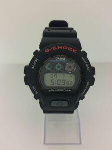 CASIO◆クォーツ腕時計/アナログ/ラバー/ブラック/DW-6900/FOX FIRE/フォックスファイアー