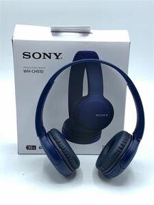 SONY◆イヤホン・ヘッドホン WH-CH510 (L) [ブルー]