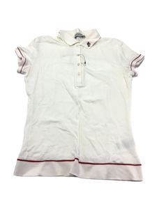 MONCLER◆モンクレール/ポロシャツ/S/コットン/アイボリー