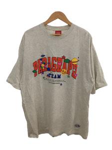 paragraph/Tシャツ/-/コットン/GRY