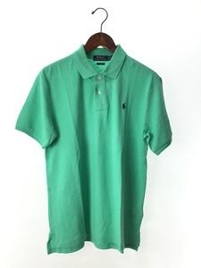 POLO RALPH LAUREN◆ポロシャツ/XL/コットン/GRN