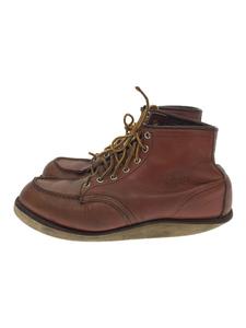 RED WING◆レッドウィング/8131/レースアップブーツ/US8/ブラウン/レザー/アメカジ/靴/シューズ