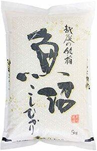 5kg 【精米】魚沼産 無洗米 コシヒカリ 5kg 令和2年産