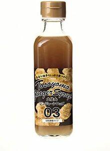 1本 土佐山 ジンジャー シロップ 03 200ml 5倍 希釈 - 無添加 有機栽培 無農薬 生姜 使用 瓶 高知県 Gin