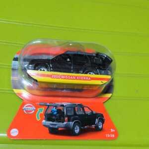 即決 難有りブリスターカード上部カット済 マッチボックスミニカー 2000 NISSAN XTETRA ブラック未開封