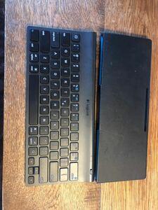 ワイヤレスキーボード logicool tablet keyboad for ipad