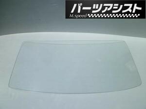 ハコスカ 4ドア用 リア 白 ガラス PGC10 / GTR セダン 旧車 L型 GT-R リアガラス パーツアシスト